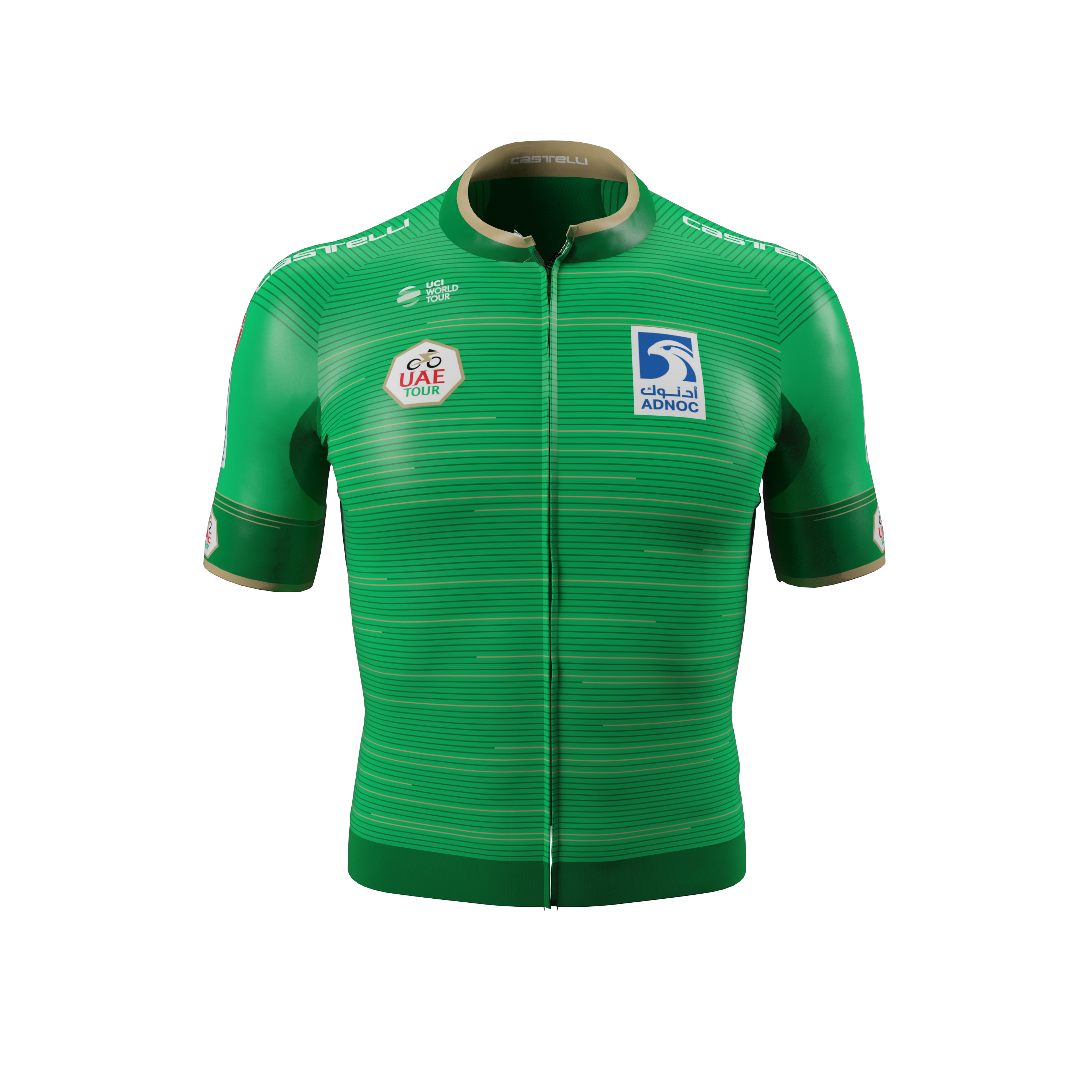 Worn every day, starting from phase 2, for the fastest sprinter, who has obtained the best placements in each phase and intermediate sprints.