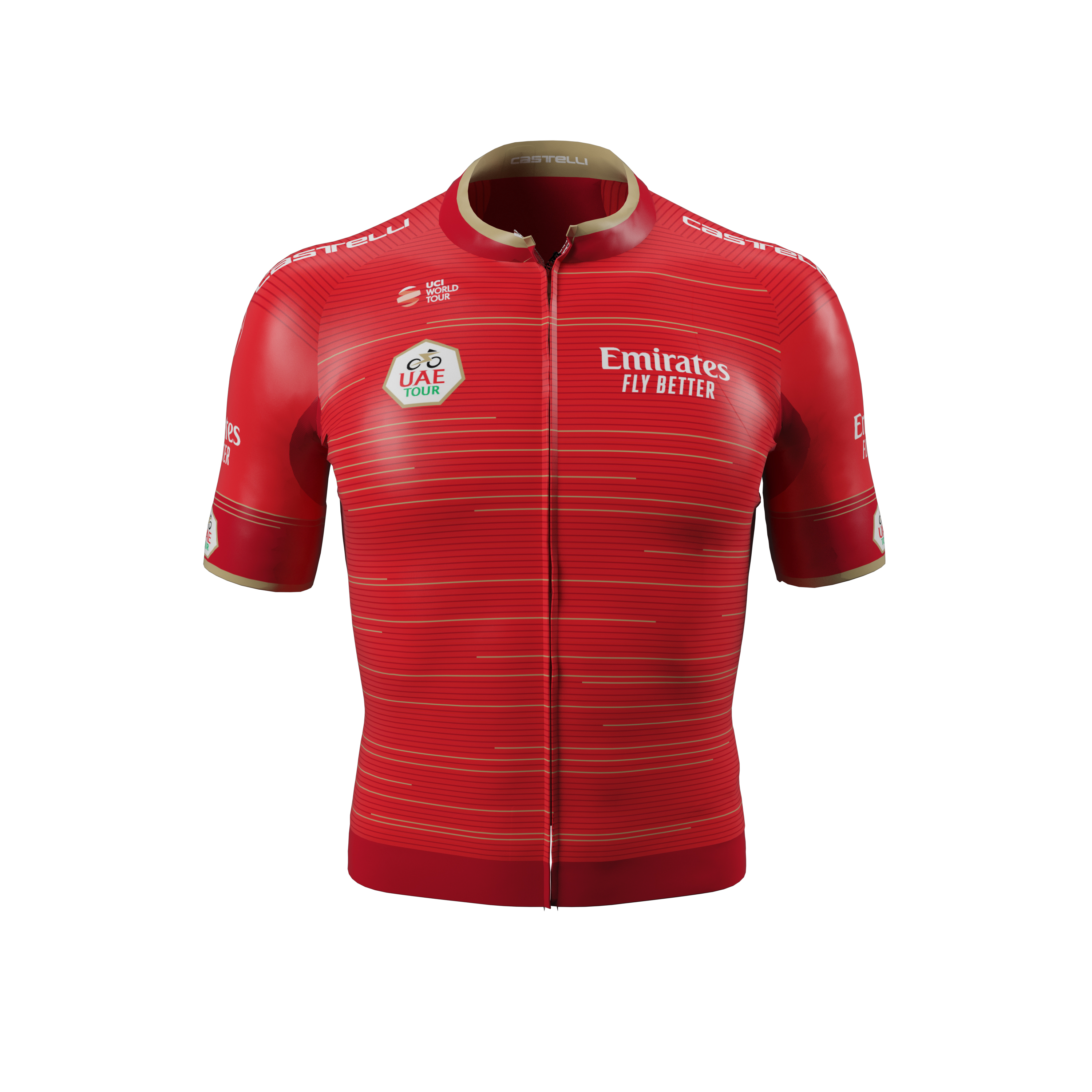 Worn every day, starting from stage 2, by the leader of the general classification.